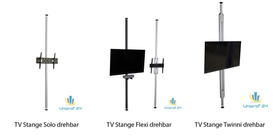 tv stangen tv halterungen aufstehhilfen boden decken stangen tv s ulen hinweise. Black Bedroom Furniture Sets. Home Design Ideas