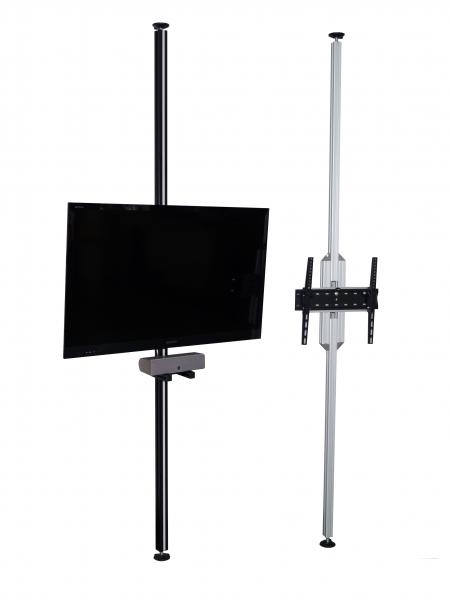 tv stangen tv halterungen aufstehhilfen boden decken stangen tv s ulen ausgleichswinkel. Black Bedroom Furniture Sets. Home Design Ideas
