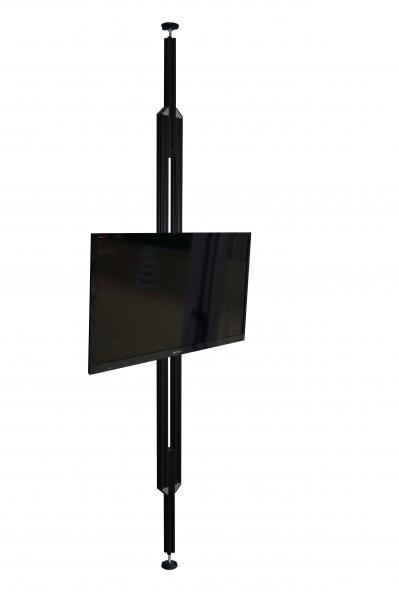 tv stangen tv halterungen aufstehhilfen boden decken stangen tv s ulen uni prof 24. Black Bedroom Furniture Sets. Home Design Ideas